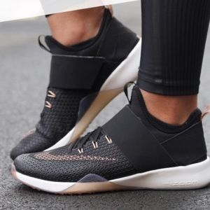 Nike Zoom black and rose gold